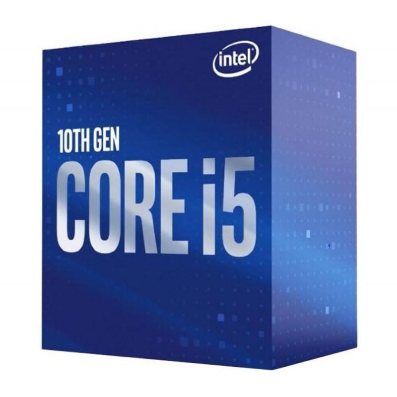 CPU INTEL Core i5 i5-10400 Comet Lake 2900 MHz Cores 6 12MB Socket LGA1200 65 Watts GPU UHD 630 BOX BX8070110400SRH3C
