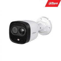 "HD-CVI, TVI, AHD, CVBS kamera cilindrinė 2MP LED iki 20m. 1/2.7"" 2.8mm 111 , PIR 10m., int. mik."